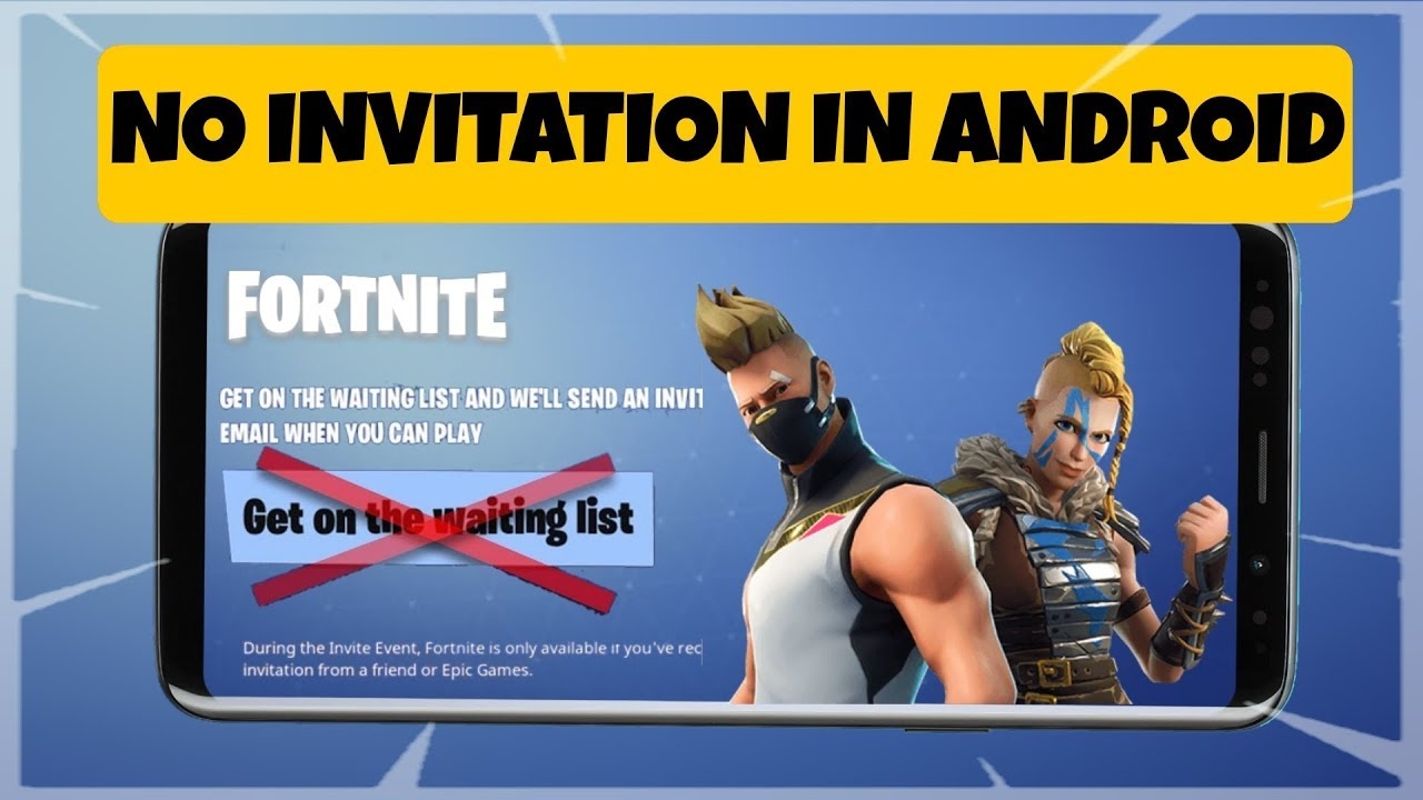 New Download Fortnite No Invitation In Android For Free No Root Download Now Hd