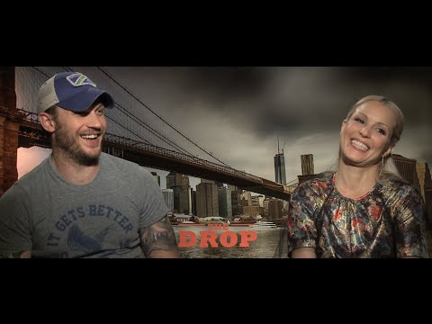 """""""The Drop"""" Interview with Tom Hardy and Noomi Rapace"""