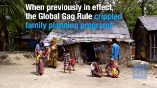 Trump's New Global Gag Rule Puts Women's Lives at Risk
