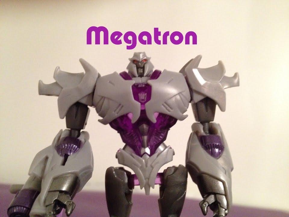 Cyberverse megatron transformers prime toy review youtube - Transformers prime megatron ...