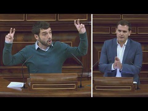PABLO BUSTINDUY (Podemos) humilla brutalmente a ALBERT RIVERA (18/05/2017)