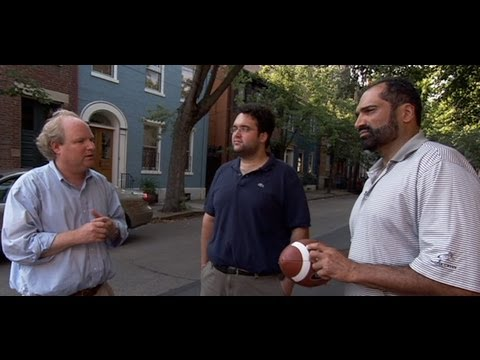 "Steeler legend Franco Harris & ""Dok"" Harris in ""My Tale of Two Cities: A Pittsburgh Comeback Story"""