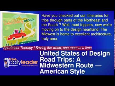 United States of Design Road Trips: A Midwestern Route — American Style