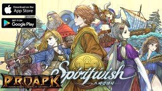 Spiritwish Gameplay Android / iOS (by NEXON) (Open World MMORPG) (KR)
