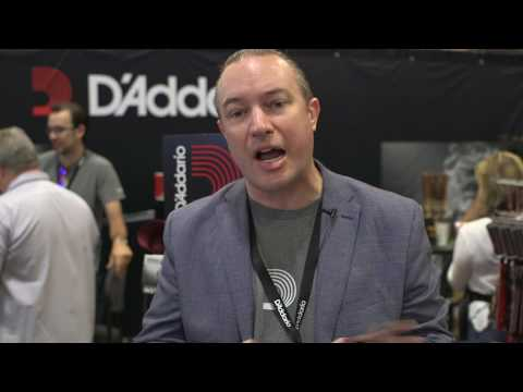 Summer NAMM 2017 - D'Addario - Pedal Tuner, Acrylux Pics, Straps and more!