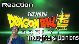 Dragon Ball Super Broly Movie Trailer! My Reactions, Thoughts And Predictions!
