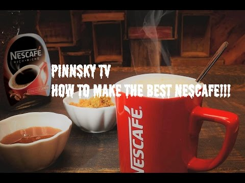 How To Make The Best Nescafe Clasico Instant Coffee!