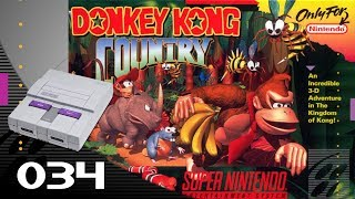 Donkey Kong Country [034] SNES Longplay/Walkthrough/Playthrough (FULL GAME)