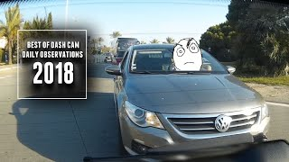 Best of 2018 - Daily Observations and Trolls of the Week [Dashcam Europe]