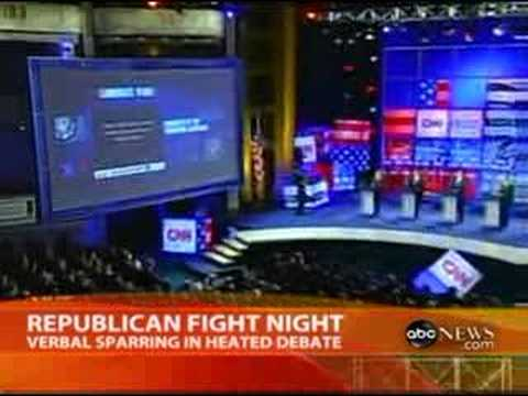 Republican Heated Debate ABC from YouTube · Duration:  2 minutes 15 seconds