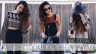 WINTER LOOKBOOK + GIVEAWAY feat. ZOOSHOO | January 2016 | FREE SHOES!(Hey guys! GIVEAWAY details below! 1.This link BELOW gifts 3 lucky girls FREE Shoes! - http://bit.ly/1ONLuVd 2. You must be subscribed to this channel ..., 2016-01-27T02:11:33.000Z)