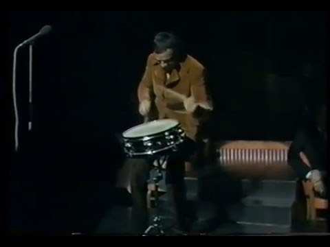 Buddy Rich drum solo Talk of the Town 1969 (snare drum only)