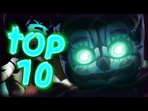 Top 10 Things You Missed In The FNAF: Sister Location Trailer!