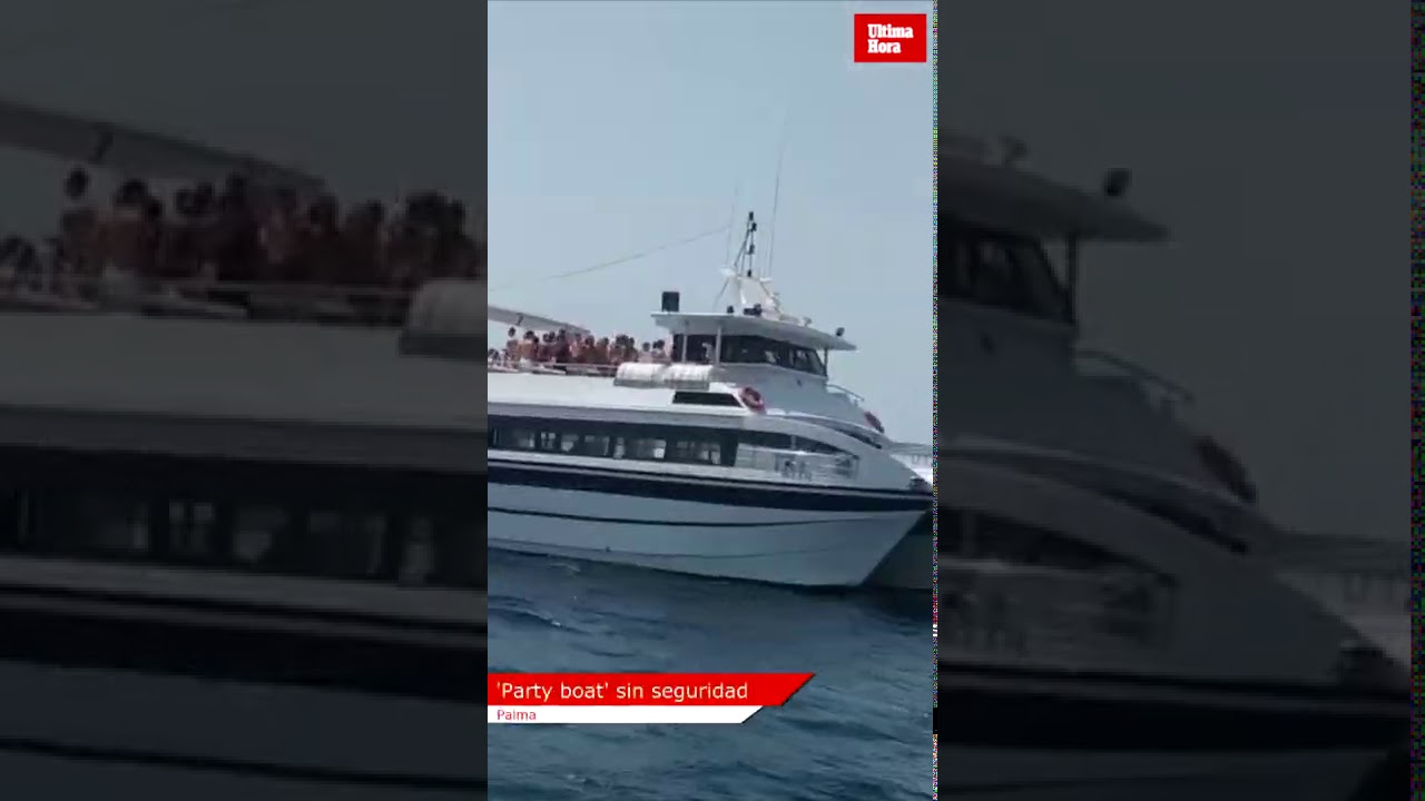 'Party boat' sin seguridad