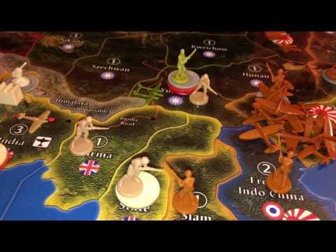 Game 11 - Chris & Brian - Axis & Allies Global 1940