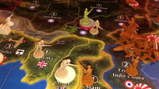 Game 11 - Chris & Brian - Axis & Allies Global 1940