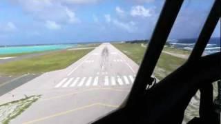 KC-130J into Wake Island