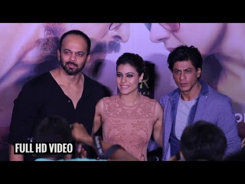 UNCUT - Dilwale 2nd Trailer Launch | Shahrukh Khan | Kajol | Rohit Shetty