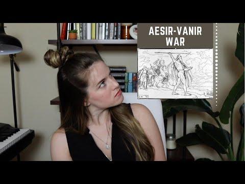 NORSE MYTHOLOGY   AESIR-VANIR WAR   SHELBY FUQUA