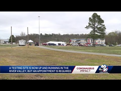 COVID-19 testing site open in Fort Smith