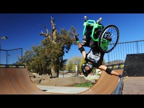 Wheelchair Freestyle - Wheelz - Gnarly!