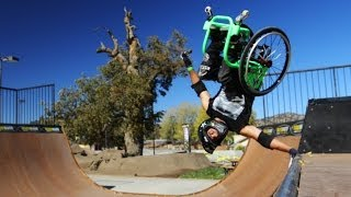 Wheelchair Freestyle - Wheelz - Gnarly! Thumbnail