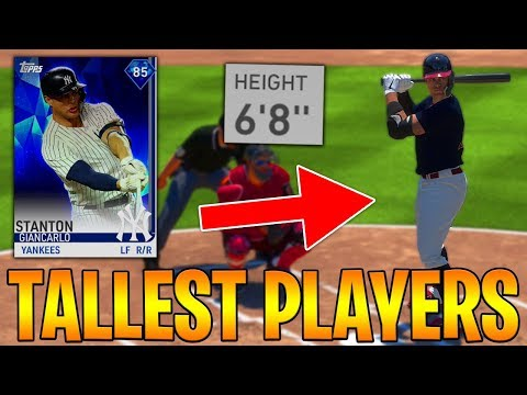 I ONLY DRAFTED THE TALLEST PLAYERS! MLB The Show 19 Battle Royale Draft & Gameplay