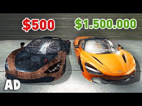 FROM $500 to $1,500,000 (Car Mechanic Simulator)
