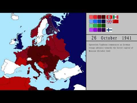 World War II - Conflict in Europe (1939-1945)