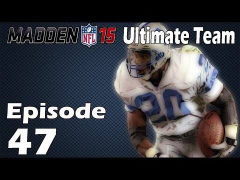 Madden 15 Ultimate Team: 99 OVERALL BARRY SANDERS GAMEPLAY! - Episode 47