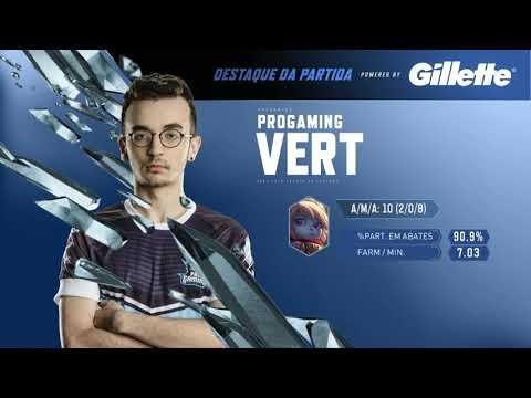 Vert: Jogador em Destaque - 3ª partida - INTZ vs PRG - Série de Promoção - CBLoL 2018