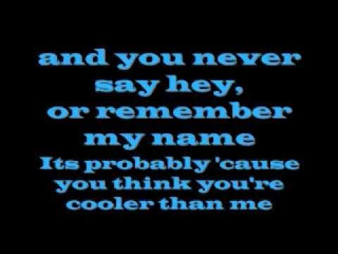 Mike Posner - Cooler Than Me [lyrics video]