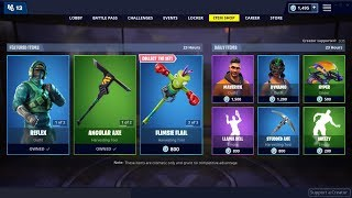 *NEW*Reflex & Instinct Skins! Fortnite Item Shop March 3rd , 2019