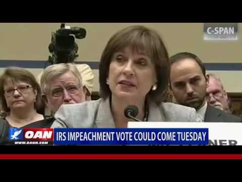 IRS Commissioner Impeachment Vote