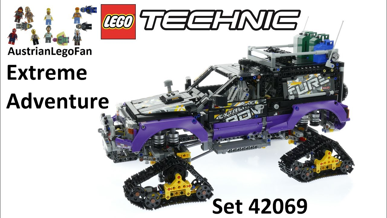 lego technic 42069 extreme adventure lego speed build review youtube. Black Bedroom Furniture Sets. Home Design Ideas