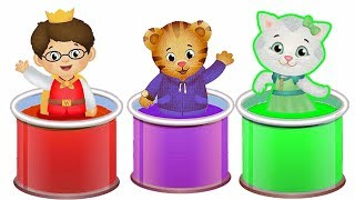 Le village de Dany En Français Daniel Tiger's Neighborhood  Learn Colors with Daniel for kids