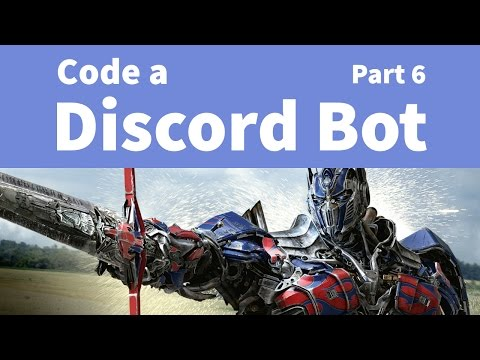 how to make a discord bot using pythin