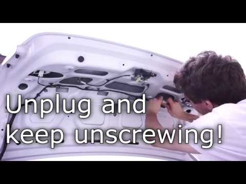 DIY Tech: Hyundai factory backup camera Blue Screen Electronics Repair