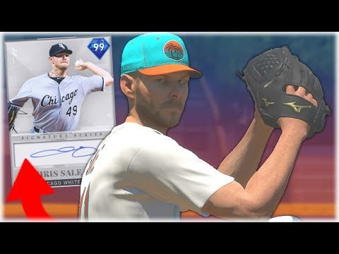 Signature Chris Sale Debut! This Card Is Way Overpowered! MLB The Show 19 Diamond Dynasty Gameplay