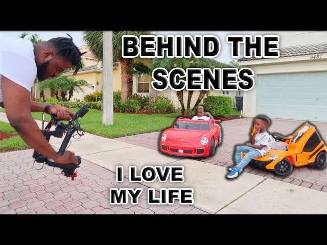 Behind The Scenes Of I Love My Life (Official Music Video)