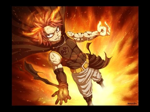 fairy tail���� etherious flame dragon god slayer natsu