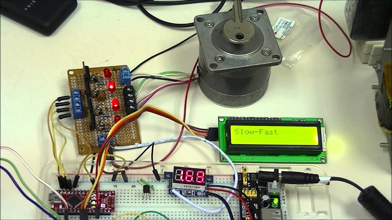 Stepper Motor Control Basics with Arduino