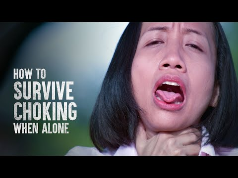 How to Survive Choking When Alone