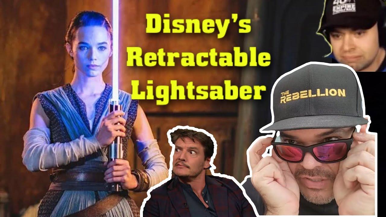 Disney unveils a real-life lightsaber