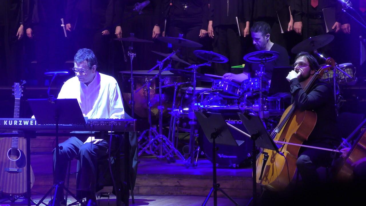 Kyrie Eleison from Missa rock - Stamatis Spanoudakis  with Yaron Enosh  in Tel Aviv 15.1.2020 - 17