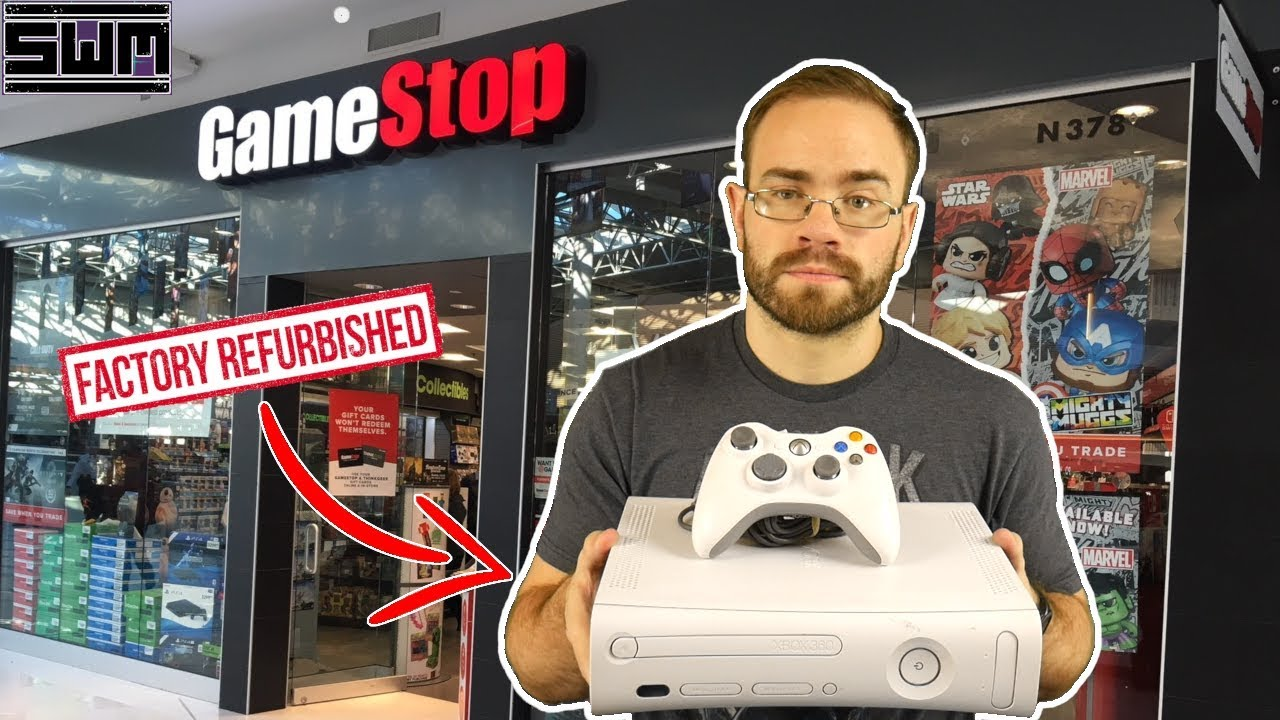 Here's Why A Refurbished Gamestop Xbox 360 Is A Waste Of Money