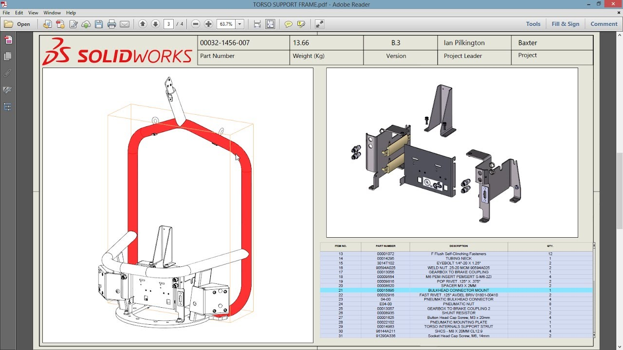 SOLIDWORKS MBD (Model Based Definition) First Look - YouTube