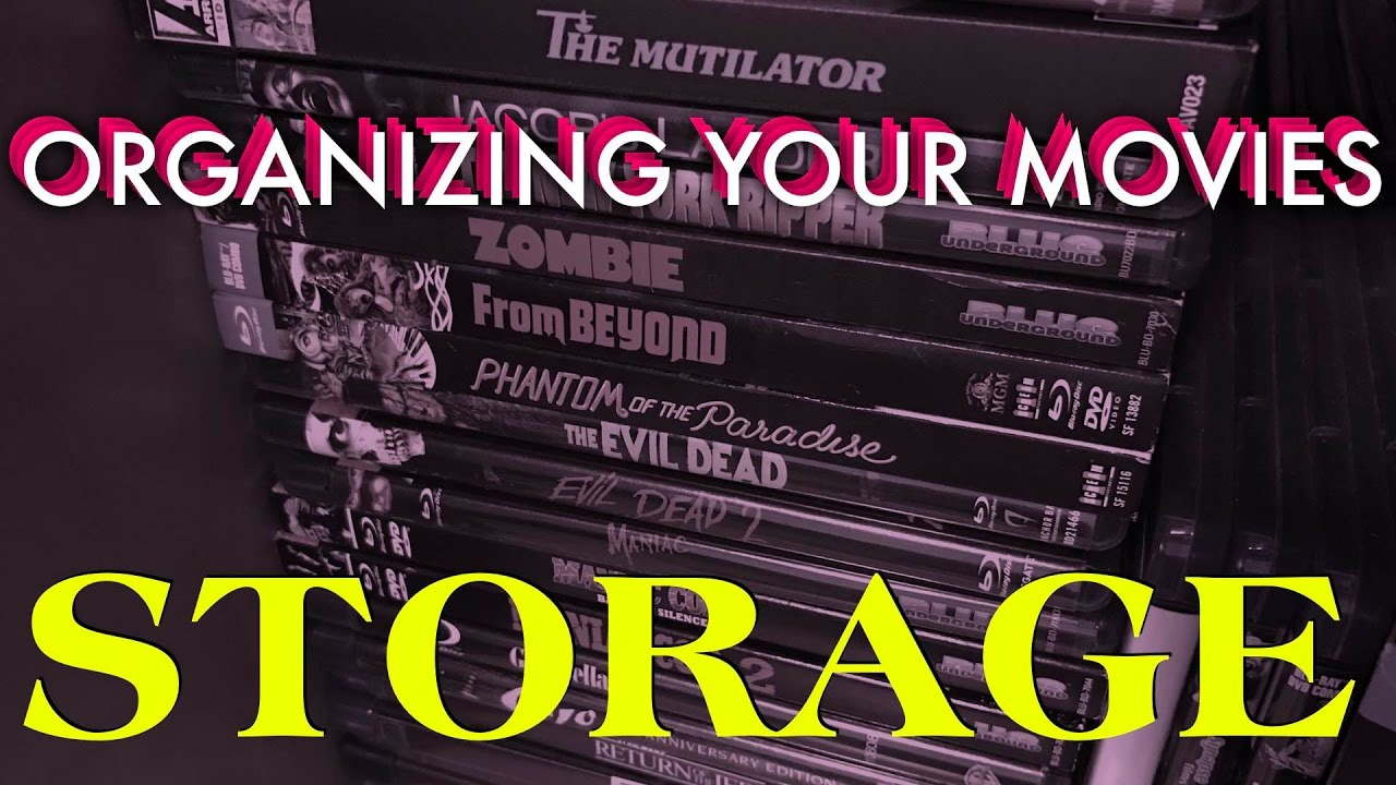 Organizing Your Movie Collection   Storage Ideas