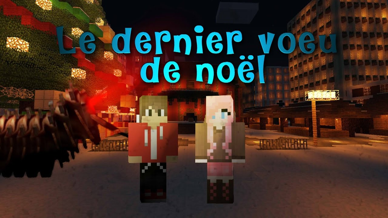 fr minecraft le dernier voeu de no l film court m trage no l hd youtube. Black Bedroom Furniture Sets. Home Design Ideas