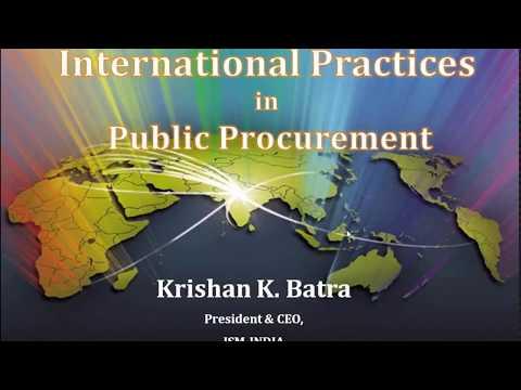 International Practices in Public Procurement(PDPP Module)